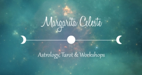 banner for margarita celeste astrology and tarot