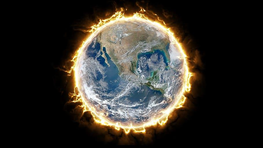 fire-earth-digital-art